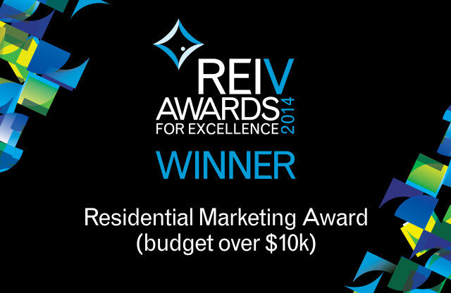 REIV Awards Winner Residential Marketing Award (Budget over $10k)