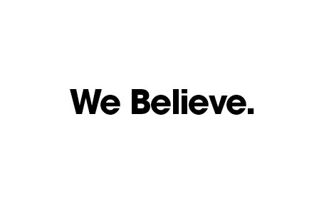 About Us - Company Beliefs